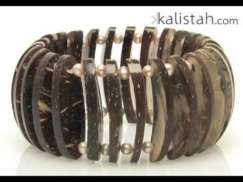 Coconut Slice Bracelet by Kalistah.com