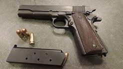 Colt 1911 A1 Ithaca de 1943 - Montage et démontage, explications I