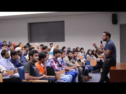 Nearpeer's Sir Ammar giving SAT tips to NOP Students at LUMS