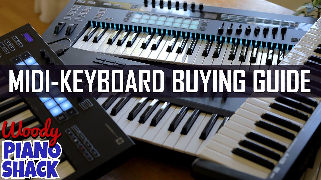 Choosing a MIDI KEYBOARD CONTROLLER,  NOVATION SL MK3 Unboxing, And MORE!