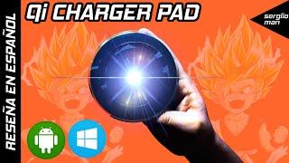 Qi Charger Pad - Recarga tu smartphone con estilo