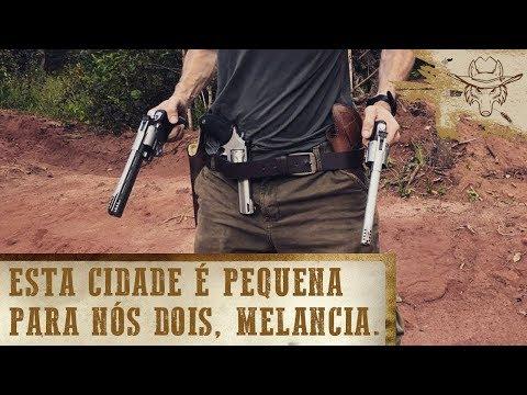 3 Revólveres BRABOS X Melancia! - Covil do Lobo Ep.13