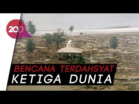 Melihat Lagi Dahsyatnya Tsunami Aceh 2004