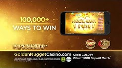 Golden Nugget Online Casino Presents Bonanza (Megaways)