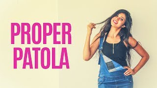 Proper Patola Dance Cover | Namaste England | Badshah, Diljit, Aastha Gill | Ritika Sankhla | Lasya