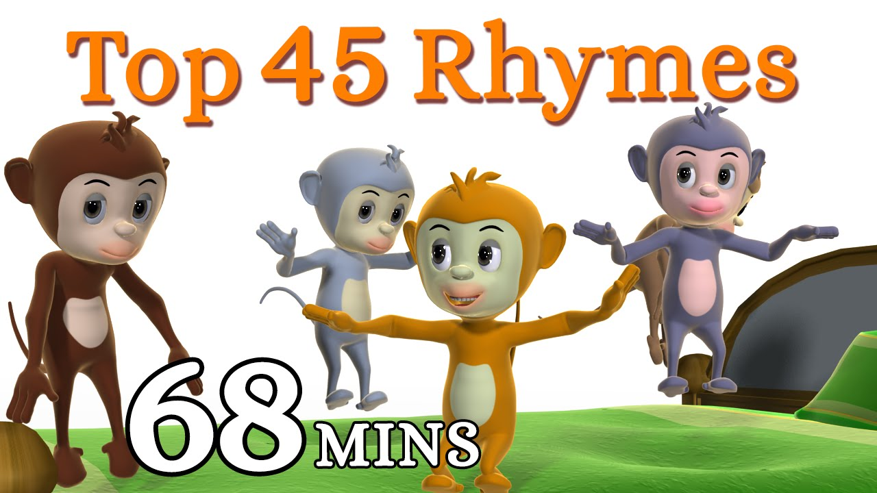 Five little monkeys jumping on the bed nursery rhyme kids songs five little monkeys jumping on the bed nursery rhyme kids songs 3d english rhymes for children youtube amipublicfo Image collections