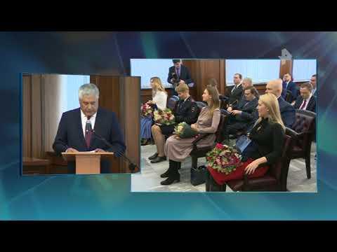 Глава МВД вручил награды представителям СМИ