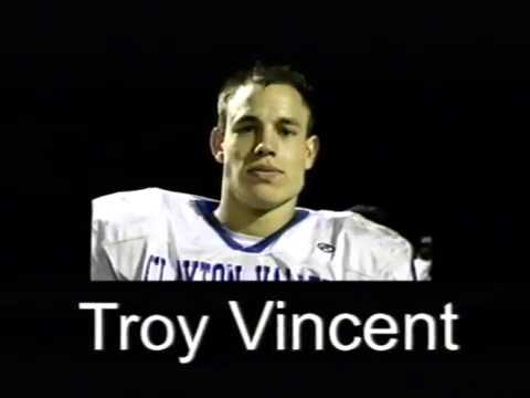 TROY VINCENT #6 Football