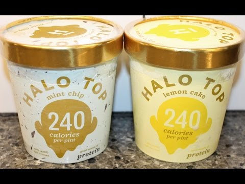 Halo Top: Mint Chip & Lemon Cake Ice Cream Review