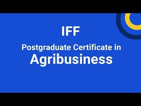 Postgraduate Certificate in Agribusiness