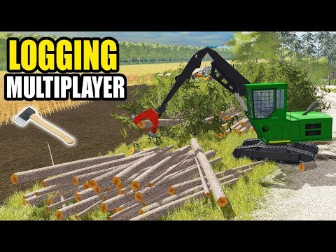 WE HAVE TOO MANY LOGS STACKED! | LOGGING EP #4 | FARMING SIMULATOR 2017