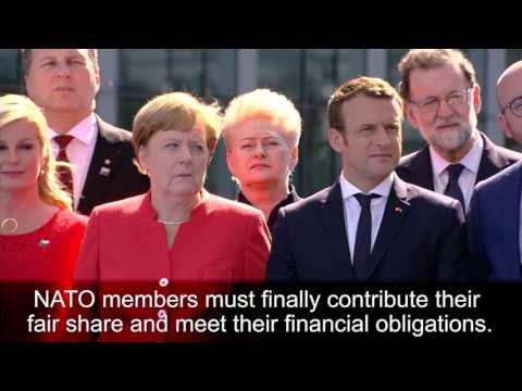 President Trump Meets With World Leaders At NATO And G7