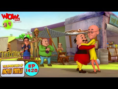 Kebahagiaan Motu - Motu Patlu dalam Bahasa - Animasi 3D Kartun