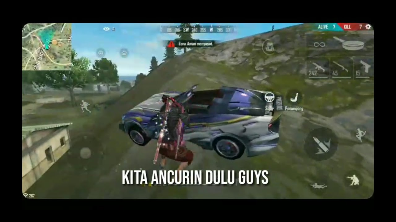 Ini dia akibat ngancurin mobil orang - Free fire Indonesia