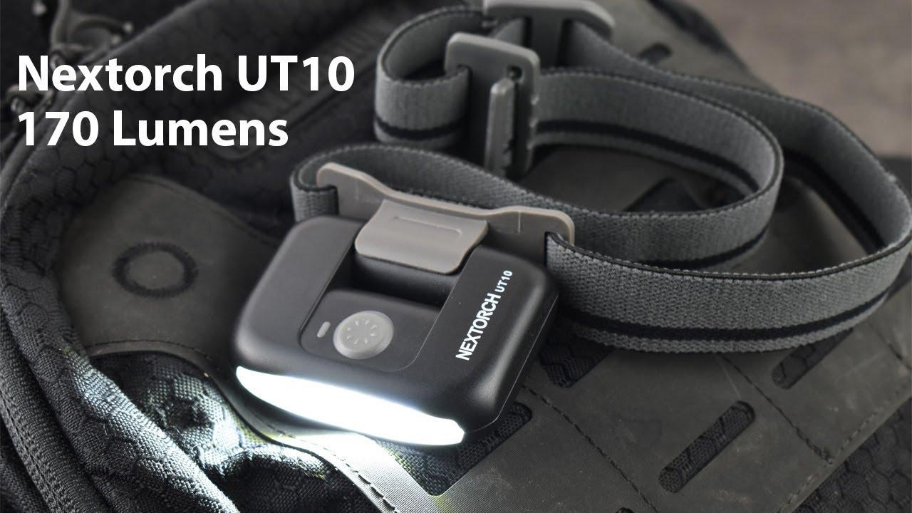 Review đèn pin đeo trán Nextorch UT10: siêu nhẹ, dùng pin sạc và sáng 170 Lumens