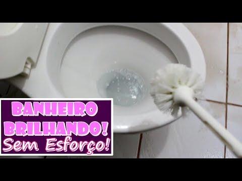 MISTURINHA PODEROSO: BANHEIRO BRILHANDO, DESINFETADO E PERFUMADO  - SEM GASTAR QUASE NADA!