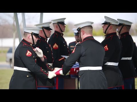 Last To Lay Marines Down - Body Bearers