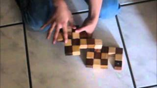 Easiest Way To Solve Snake Cube