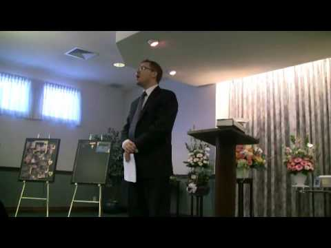 Todd Armstrong Singing at Mom's funeral