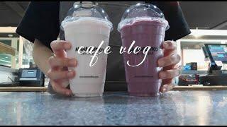 Eng) CAFE VLOG   카페 브이로그   음료 …