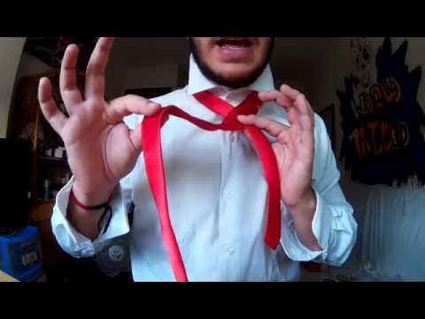 como hacer nudo de corbata f cil y r pido youtube On nudo de corbata facil