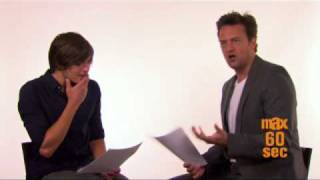 Max 60 Seconds with Matthew Perry