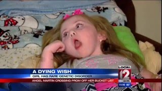 3-year-old with rare genetic disorder going to prom