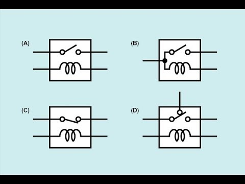 Types of Relays Normally Closed Normally Open Double Throw