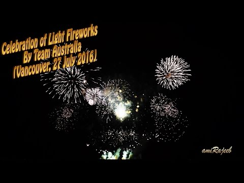 2016 Celebration of Light Fireworks (Team Australia: July 27)
