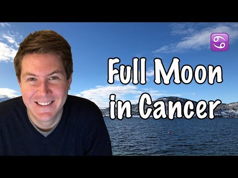Full Moon in Cancer January 2, 2018 | Gregory Scott Astrology