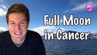 Full Moon Supermoon in Cancer January 2, 2018 | Gregory Scott Astrology
