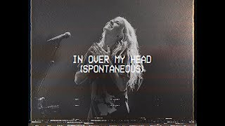 In Over My Head (Spontaneous) - Jenn Johnson | MOMENTS: MIGHTY SOUND