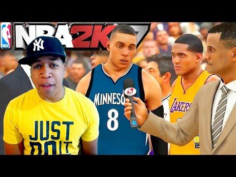 NBA 2K17 FULL 4 Quarters - Where's MyPARK At? / Lakers vs Timberwolves