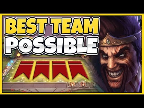 *LoL AUTO CHESS* BEST TFT TEAM COMP POSSIBLE (NOT CLICKBAIT) - Team Fight Tactics