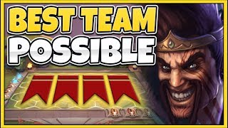 LoL AUTO CHESS BEST TFT TEAM COMP POSSIBLE NOT CLICKBAIT - Team Fight Tactics