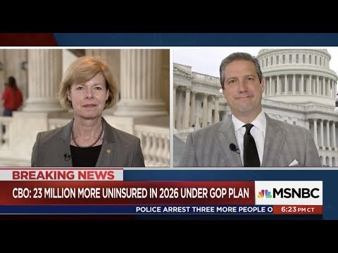 MSNBC: Senator Tammy Baldwin and Congressman Tim Ryan on TrumpCare