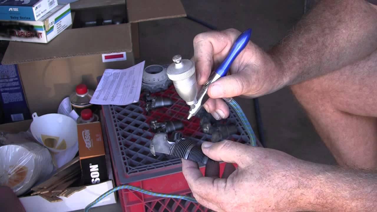 Dummy R2800 Using Air Eraser