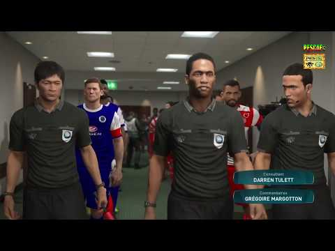 PS4 PES 2017 Gameplay Club Africain vs Supersport United HD