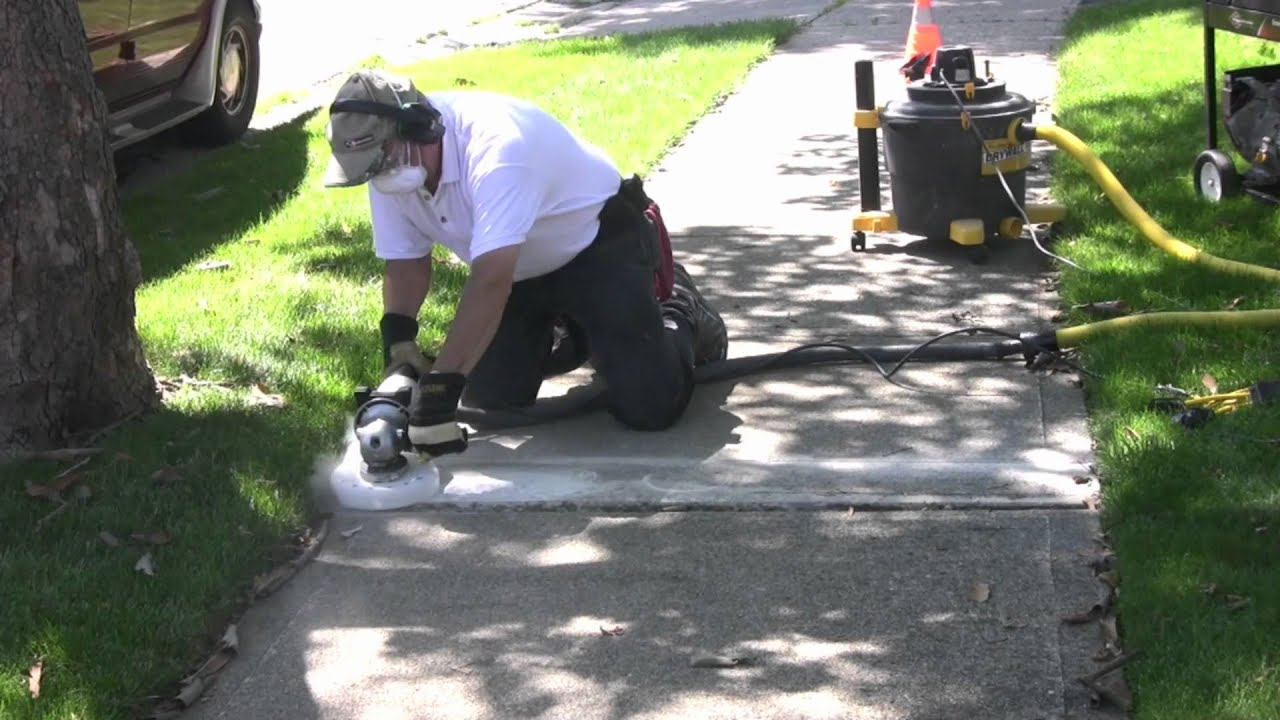 Image result for Simple Solutions To Repair Uneven Sidewalk Slabs