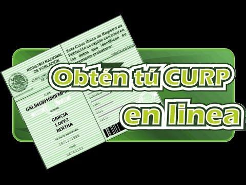 Como Consultar E Imprimir Tu Curp Original Gratis En Linea 2017