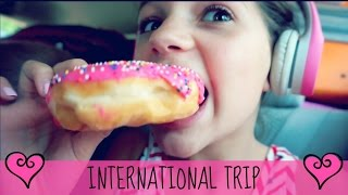 10 year old kid on an International Flight | Come with me from AMERICA to IRELAND