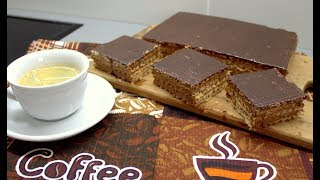 Вафельный торт с шоколадным кремом//Cooking with LOVE