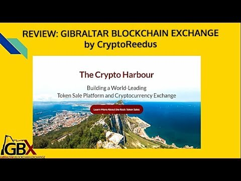 ICO / TGE REVIEW: Gibraltar Blockchain Exchange, Utility vs. Security Tokens, SEC regulations