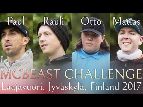 McBeast Challenge 2017 Laajavuori, Jyväskylä, Finland [4K]