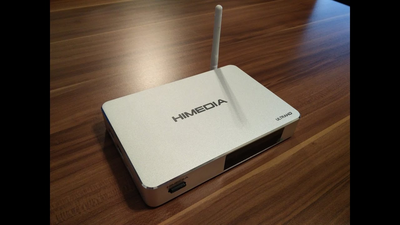 HiMedia Q5 Pro Android TV Box Firmware 1 0 8 Unboxing und Review