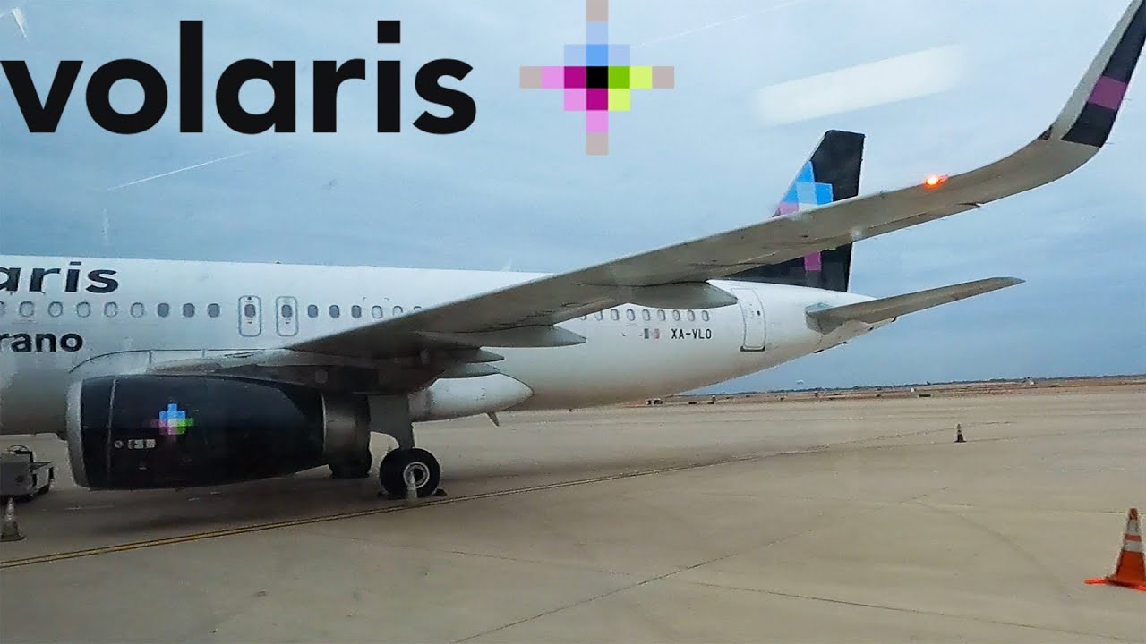 Download FLYING INTERNATIONALLY IN 2020: Volaris   Airbus A320   Dallas/Fort Worth - Guadalajara   Economy