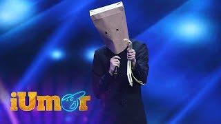 Sergiu Rotaru, omul cu punga pe cap, moment de stand up. Bendeac: