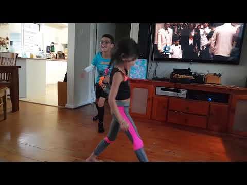 Isabel dancing