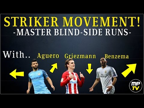 Striker Movement! Master Blind-Side Runs in Soccer (Learn & Develop) MPTV_SHORT ⚽