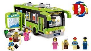 Лего совместимый городской автобус конструктор Enlighten 1121 Brick, быстрая сборка Лего bus Lego